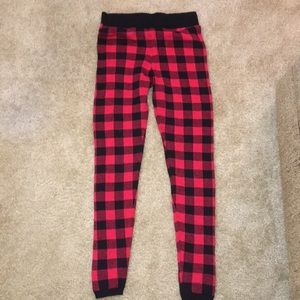 Pants - Plaid leggings